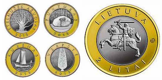 Купить 2 евро 2015 литва продажа 2 евро литва
