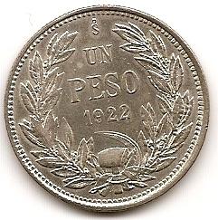 1 песо Чили 1922