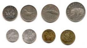 Фауна и флора Набор монет Хорватия 1993-2007 гг.(8 монет)