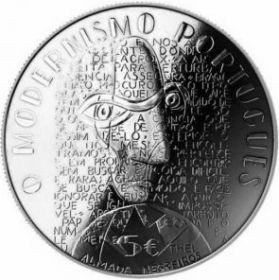 Современная Европа  5 евро Португалия  2016